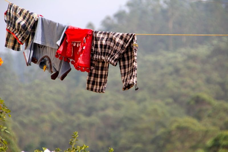 Dry Clothes Clothes Line - stay dry on your adventure