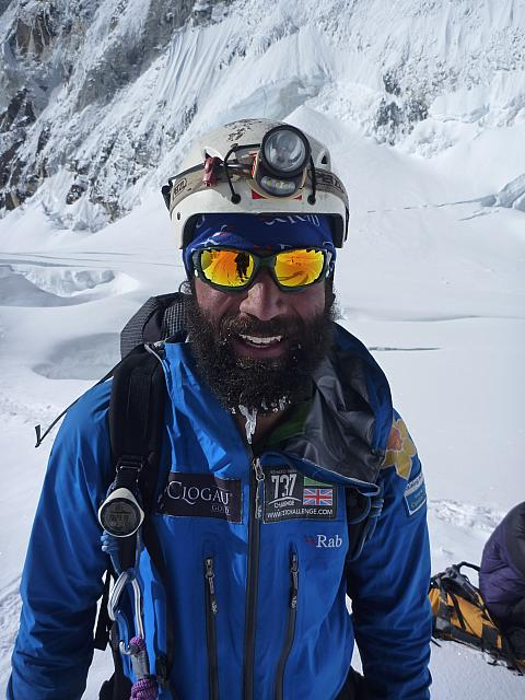 Richard Parks on Everest
