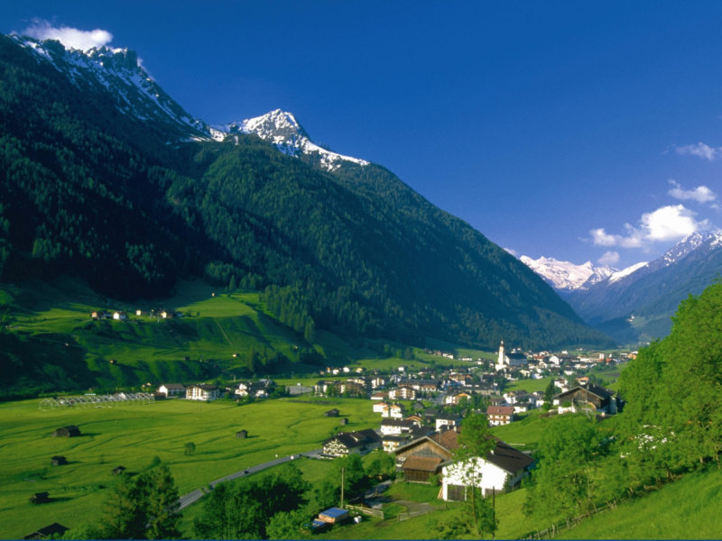 Stubaital valley