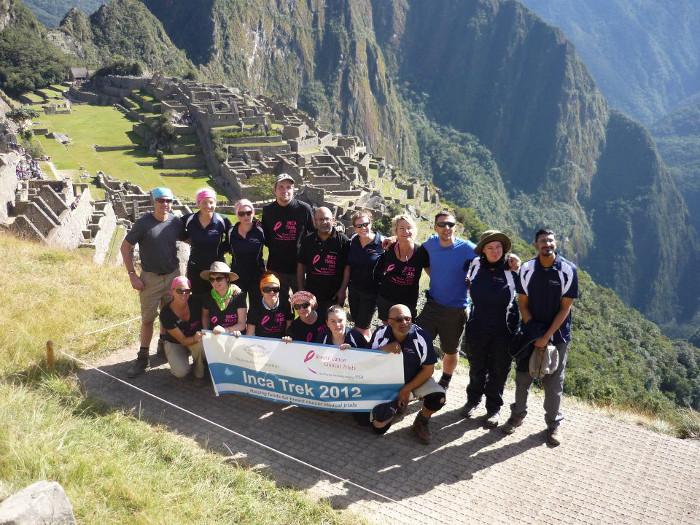 Machu Picchu charity trek