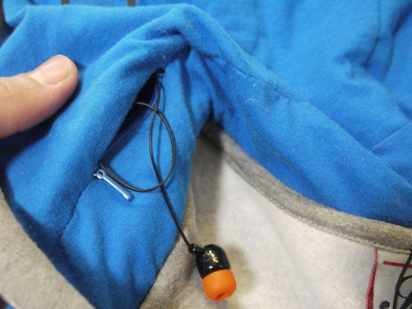 scruffs speaker hoodie