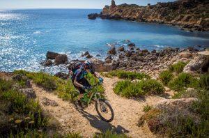 Biking Malta
