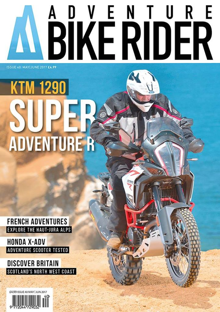 Adventure Bike Rider cover