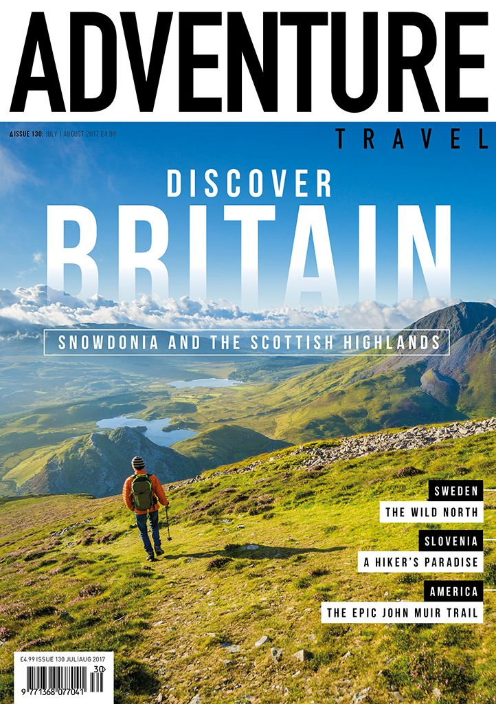 Adventure Travel magazine cover
