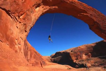 World's largest rope swing