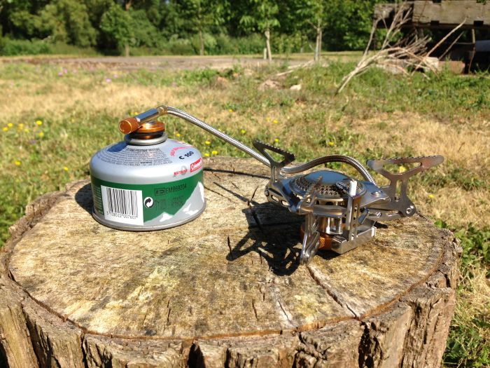 Vango Folding Gas Stove with Piezo