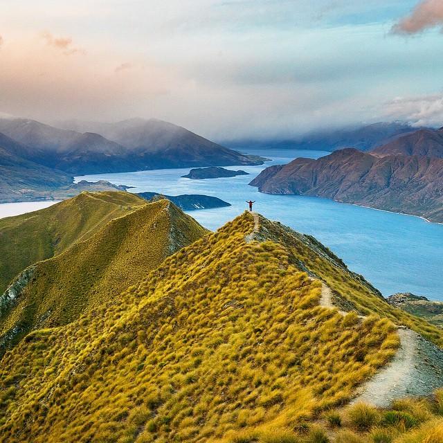 Lake Wanaka, New Zealand,