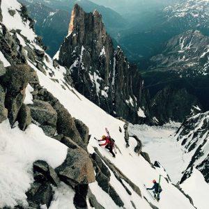 Mount Blanc, France by Kilian Jornet