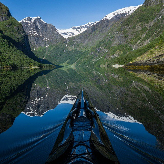 Nærøyfjorden, Norway by Tomasz Furmanek