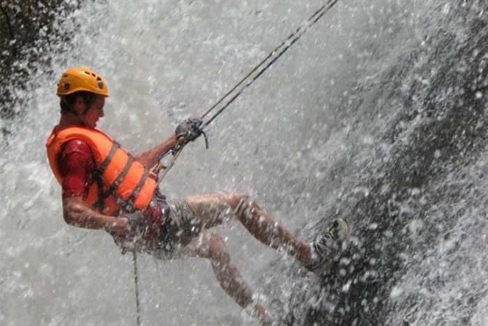 Canyoning in Da Lat, Vietnam