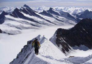 Mönch, Bernese Alps, Switzerland