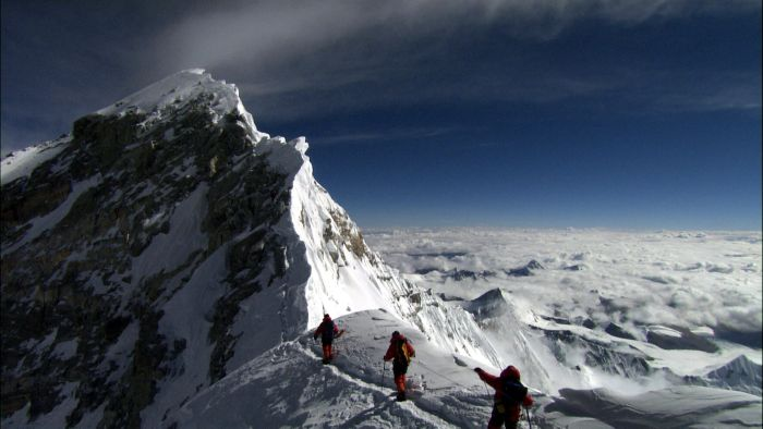 Climbing Mount Everest