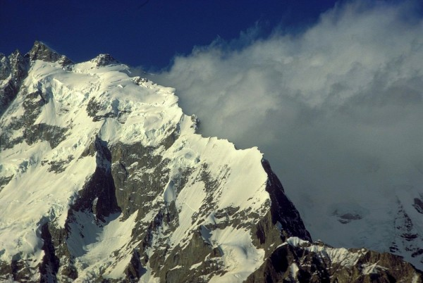 The unclimbed mountain of Muchu Chhish in Pakistan