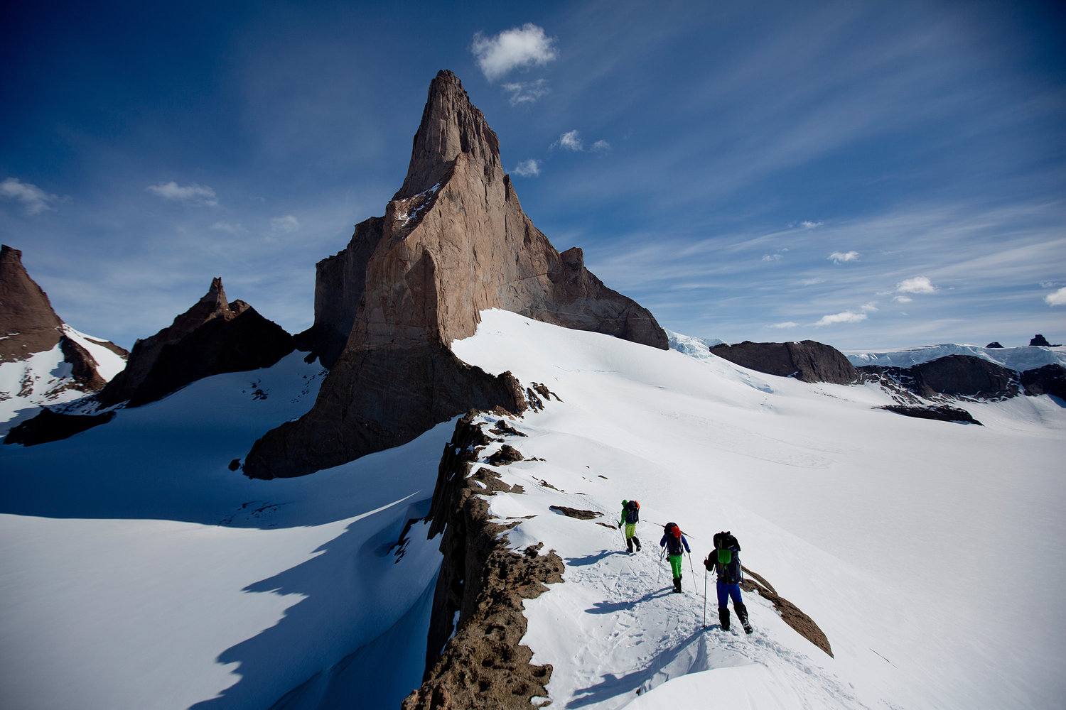 Ulvetanna Peak (the wolf's tooth), Antarctica