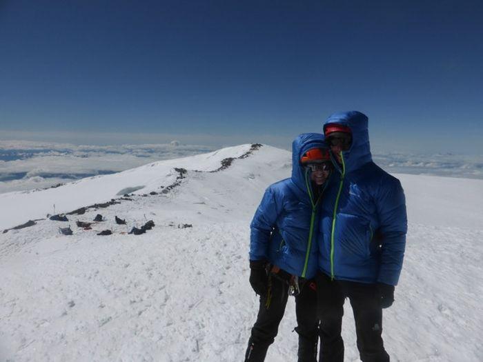 Robert and Rona, Mount Rainier, USA