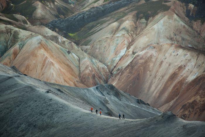 Laugavegur trail, Iceland