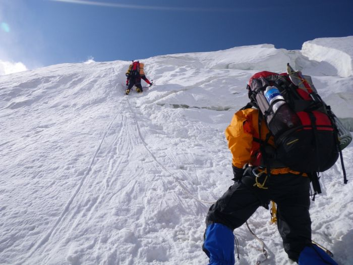 Climbing Lenin Peak, Kyrgyzstan
