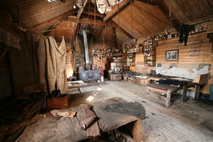 Shackleton's hut, Antarctica