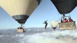 The balloon highline