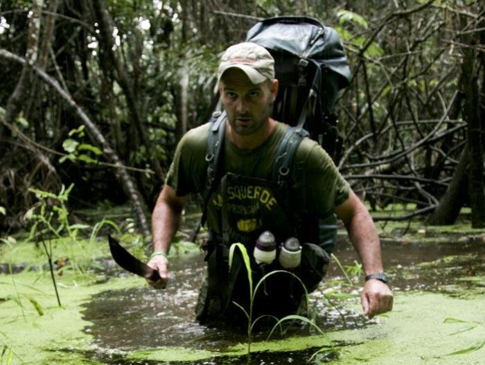 Ed Stafford in Walking the Amazon