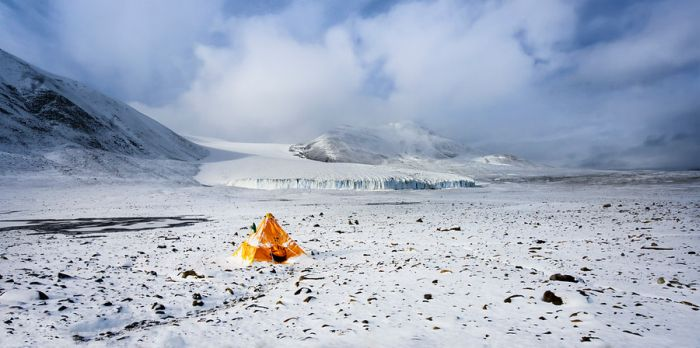 Camping, Antarctica