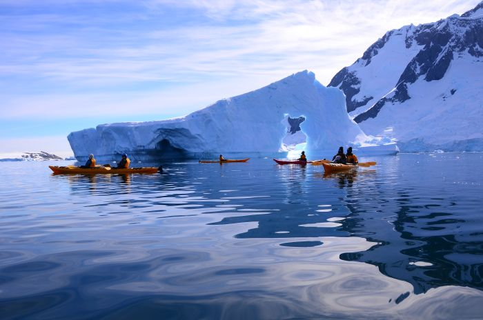 Kayaking, Antarctica