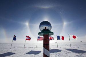 The South Pole, Antarctica