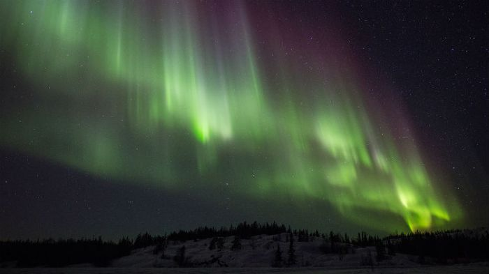 Northern Lights, Yellowknife, Canada