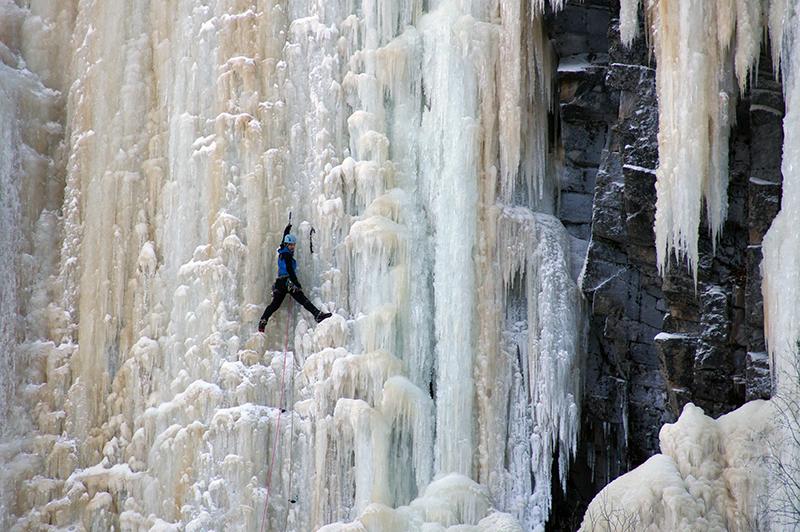 Ice climbing, Finland