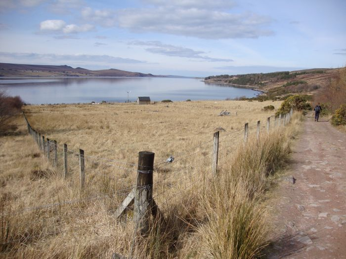 The coastal footpath leading to Scoraig, Scotland