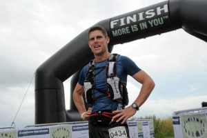 Scott Forbes after winning Race to the Stones