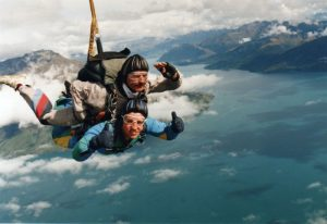 Skydiving, Queenstown, New Zealand