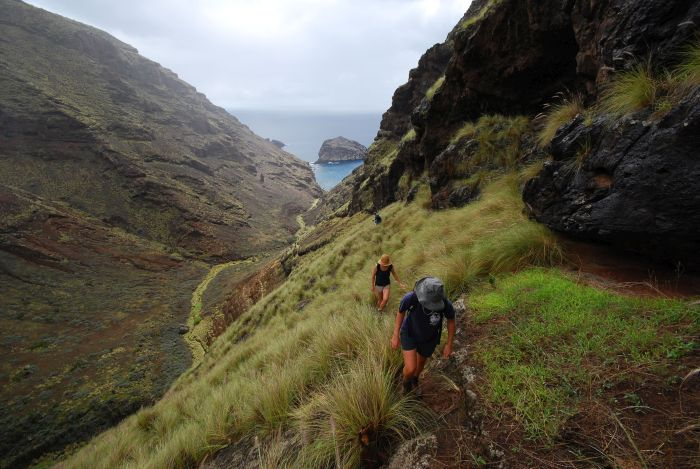 Old Woman's Valley, St Helena