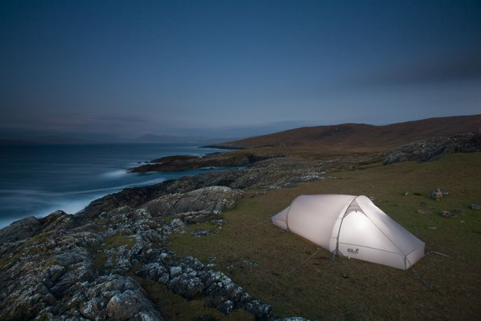 Wild camp, Scotland