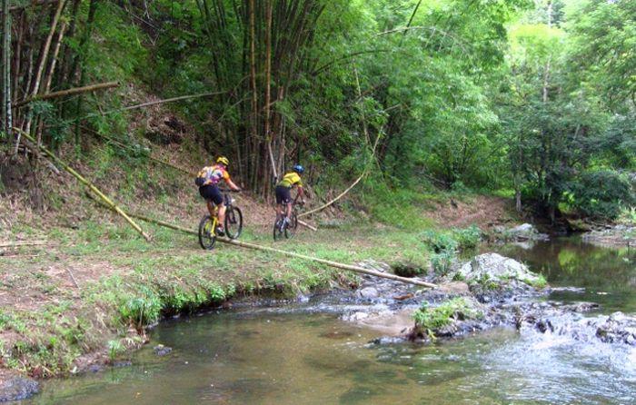 Biking the Chocolate Trail, Tobago