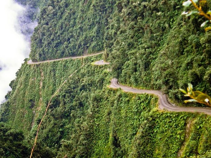 North Yungas Road, ('Death Road), Bolivia