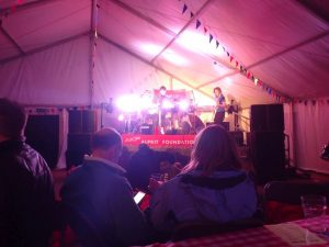Live bands at The Big Shakeout festival