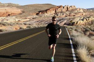 Scott Forbes training in Las Vegas