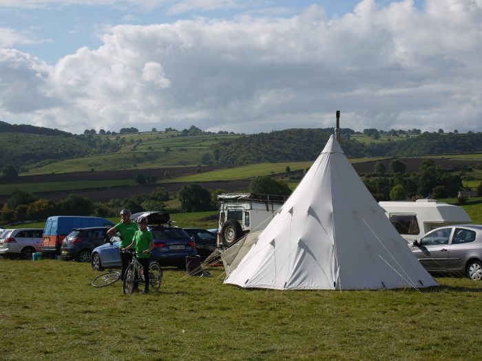 The Big Shakeout festival in Peak District countryside