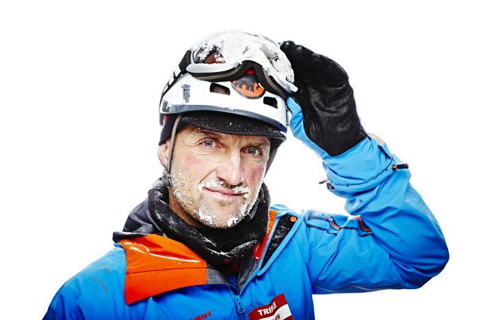 Austrian mountaineer Christian Stangl