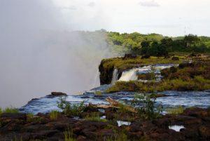 Swimming in Devil's Pool, Victoria Falls