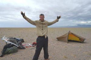Ash Dykes in Mongolia
