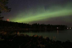 Lake Lights, Aurora Borealis