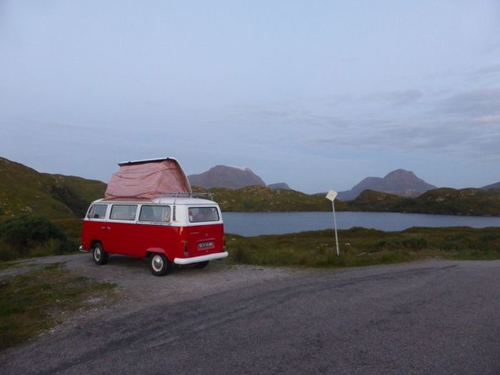 Robert and Rona's campervan