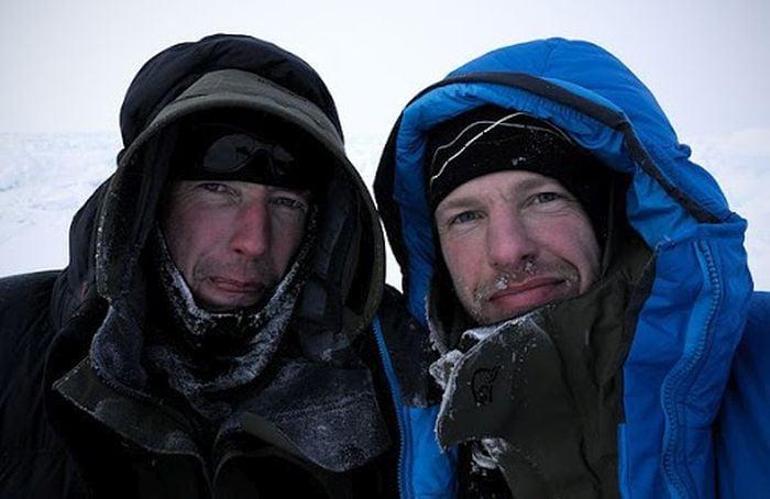 Audun Tholfsen and Timo Palo