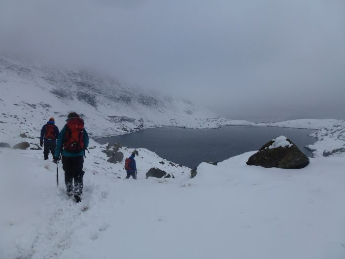 Avalanche dangers on Snowdon