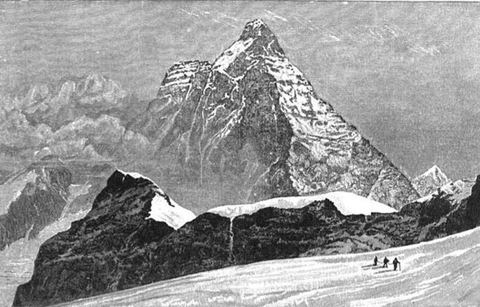 Lucy Walker, first woman to climb the Matterhorn