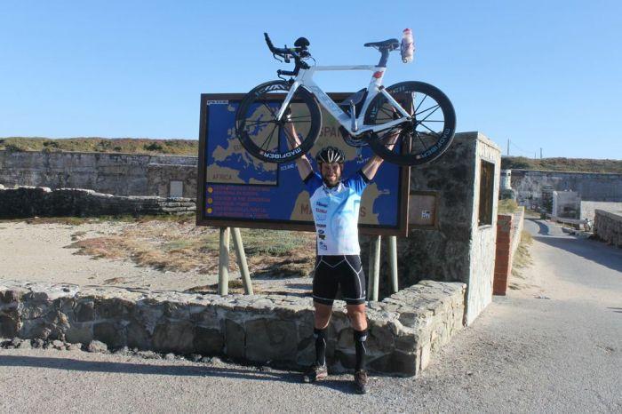 Cyclist Paul Spencer