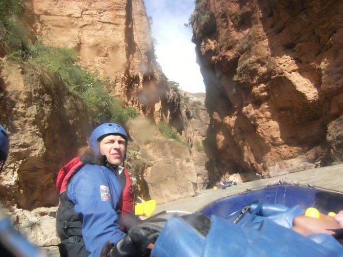 Rafting th Ahansel River