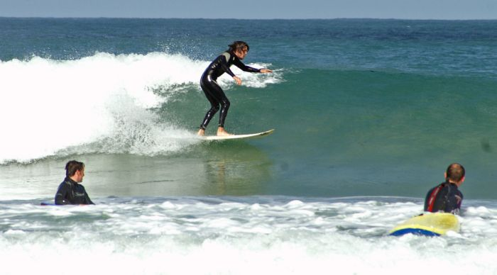 Surfing in Cornwall